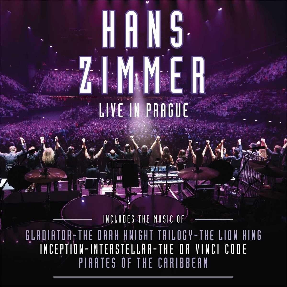 Hans Zimmer - Live In Prague album cover