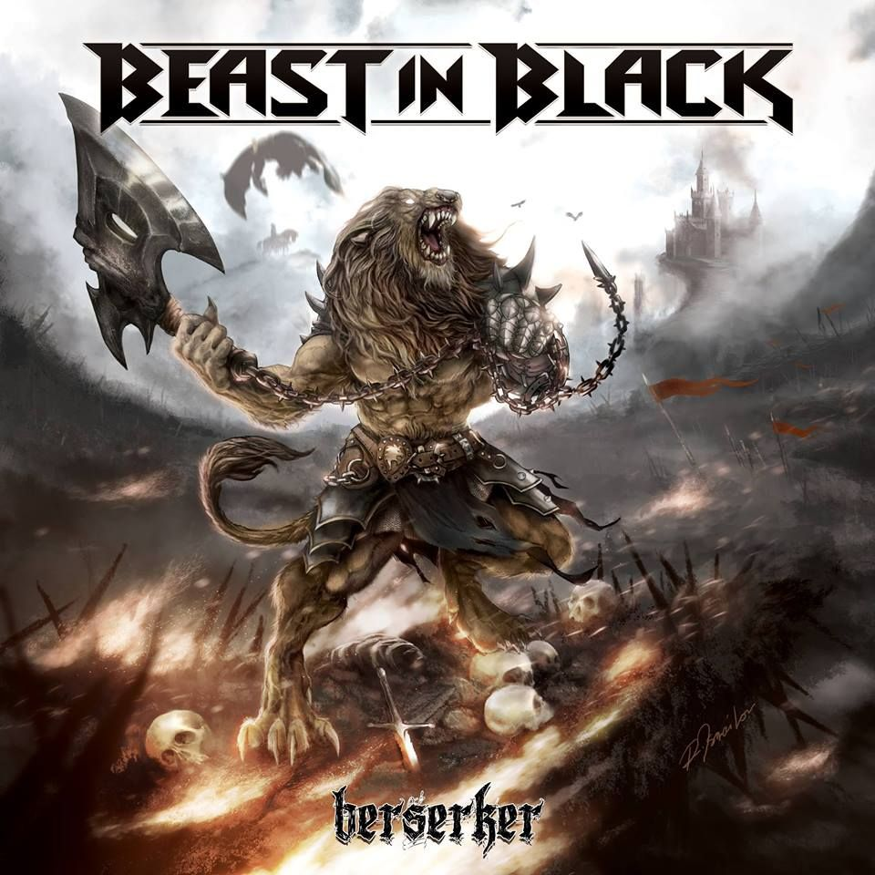 Beast In Black - Berserker album cover