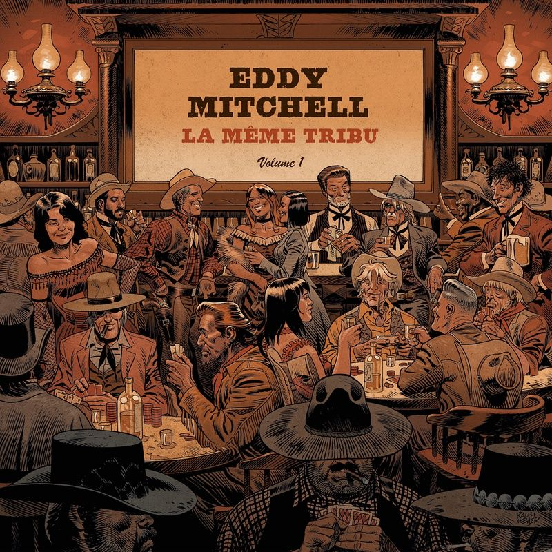 Eddy Mitchell - La Même Tribu album cover