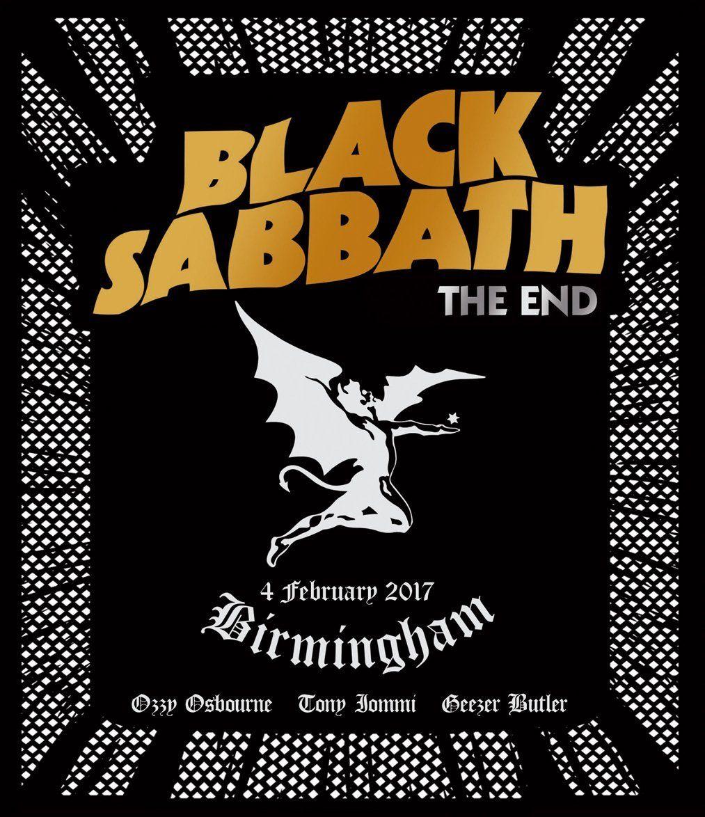 Black Sabbath - The End - Birmingham album cover