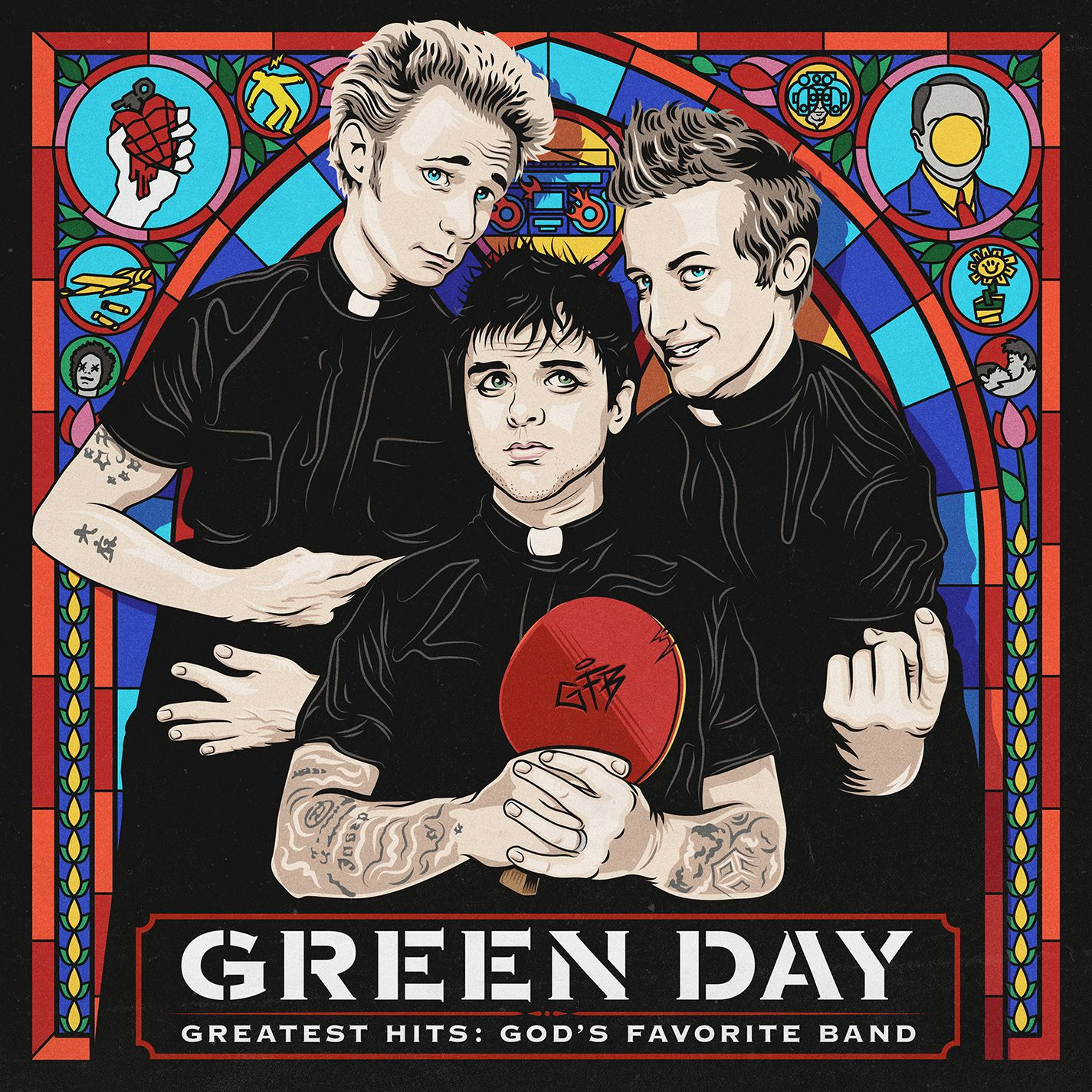 Green Day - Greatest Hits - God's Favorite Band album cover
