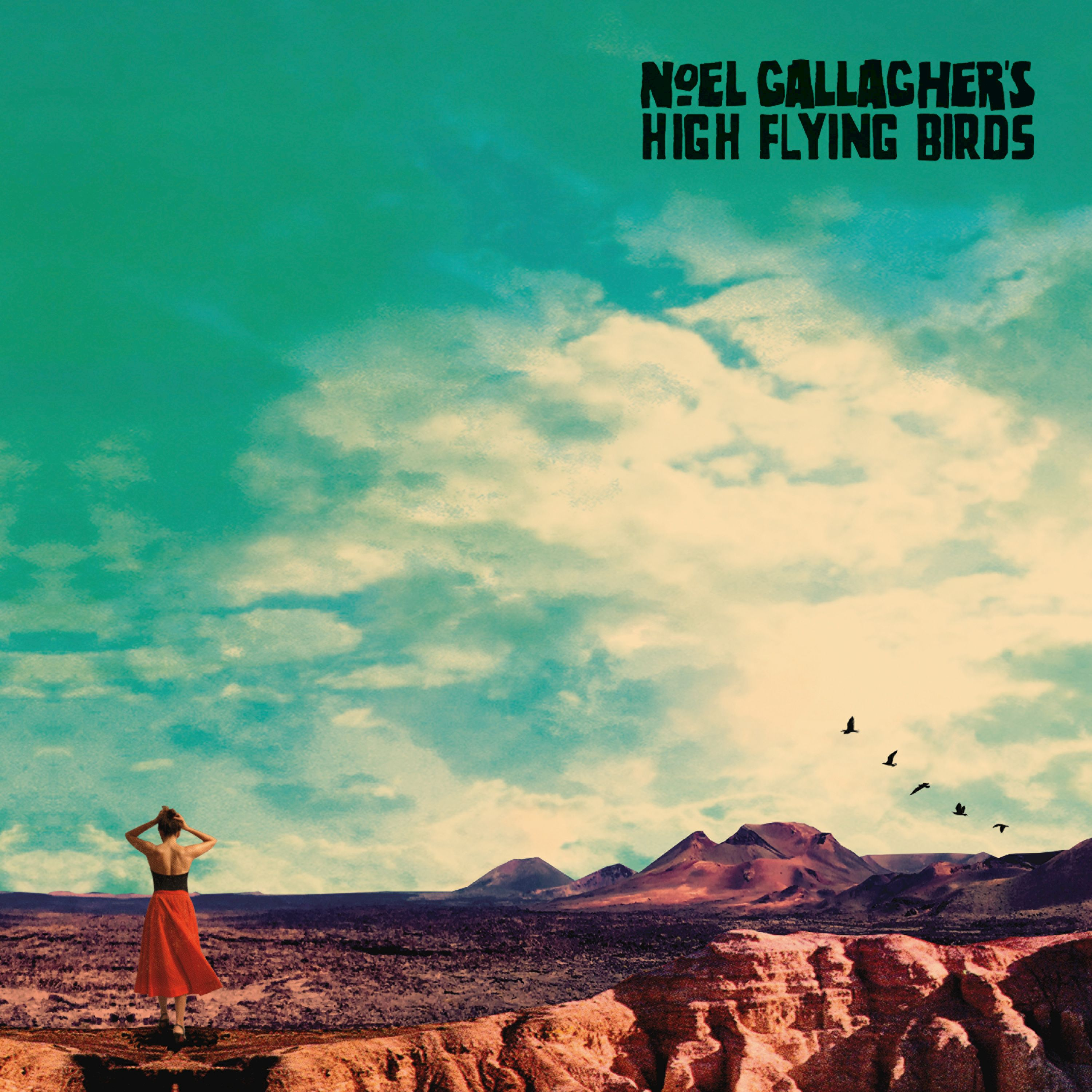 Noel Gallagher's High Flying Birds - Who Built The Moon? album cover