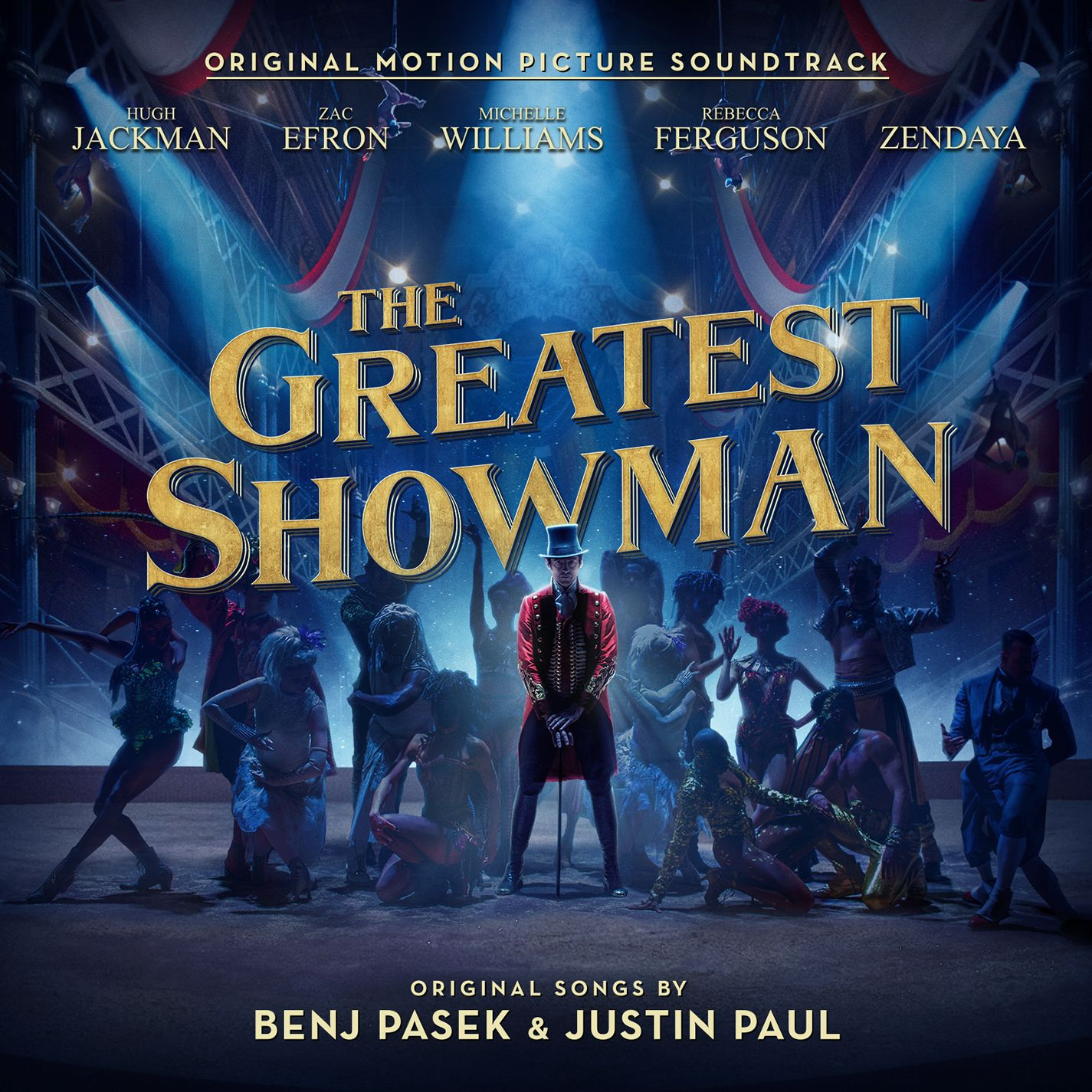 Motion Picture Cast Recording - The Greatest Showman album cover