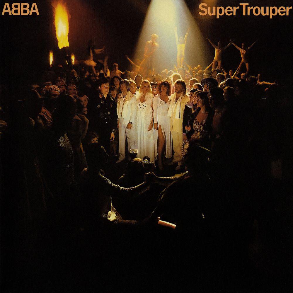 ABBA - Super Trouper album cover