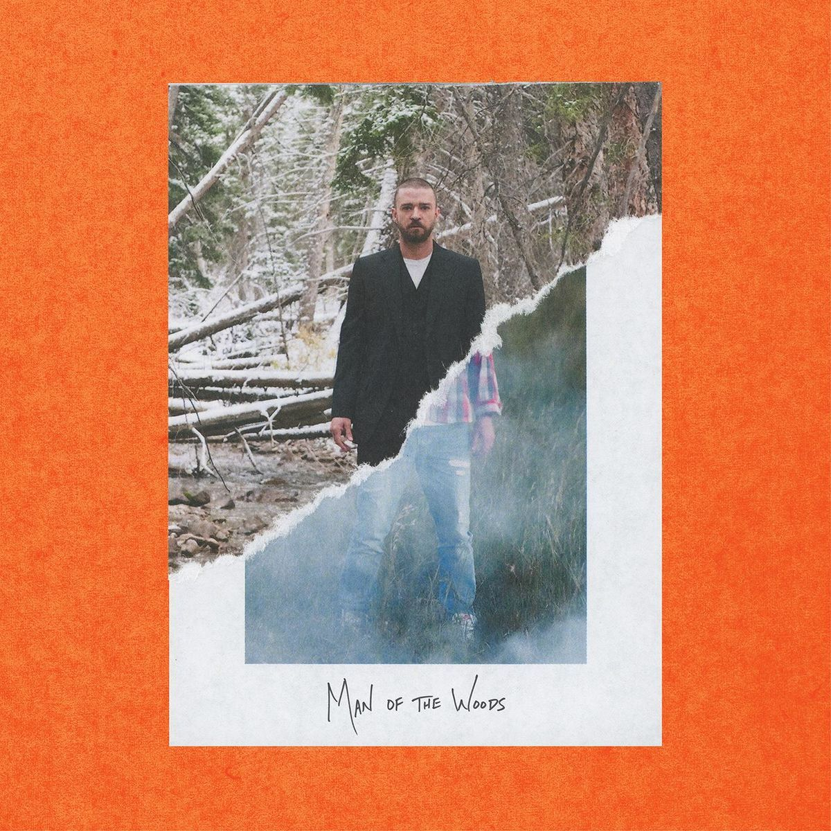 Justin Timberlake - Man Of The Woods album cover