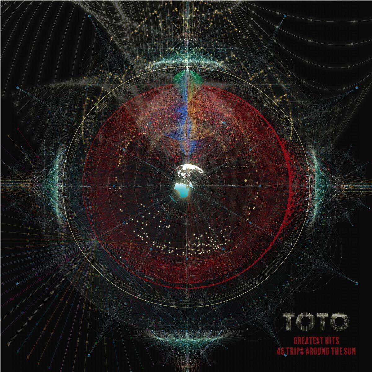 Toto - 40 Trips Around The Sun album cover