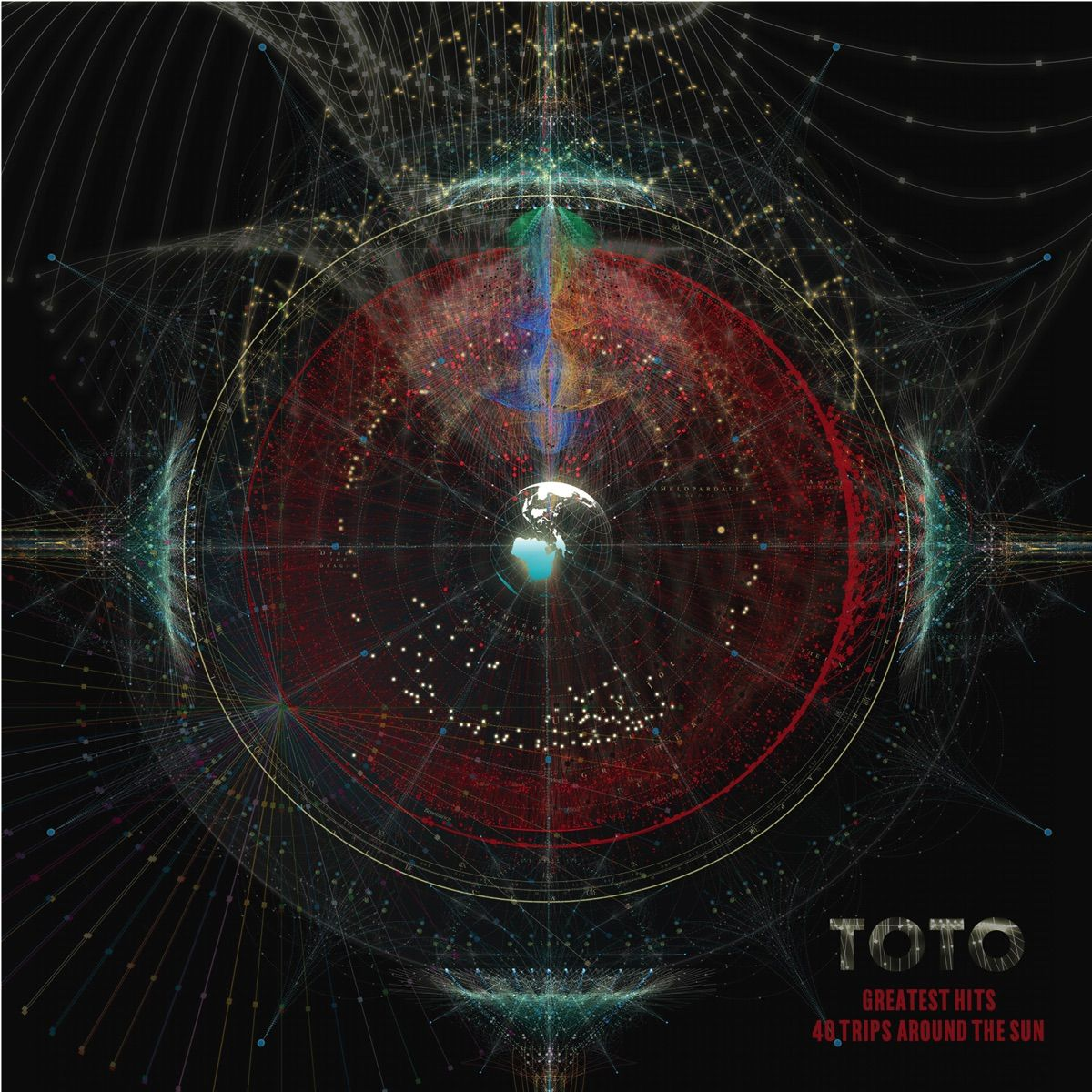 Toto - Greatest Hits: 40 Trips Around The Sun album cover