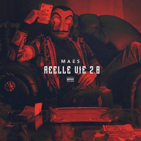 Maes - Réelle Vie 2.0 album cover