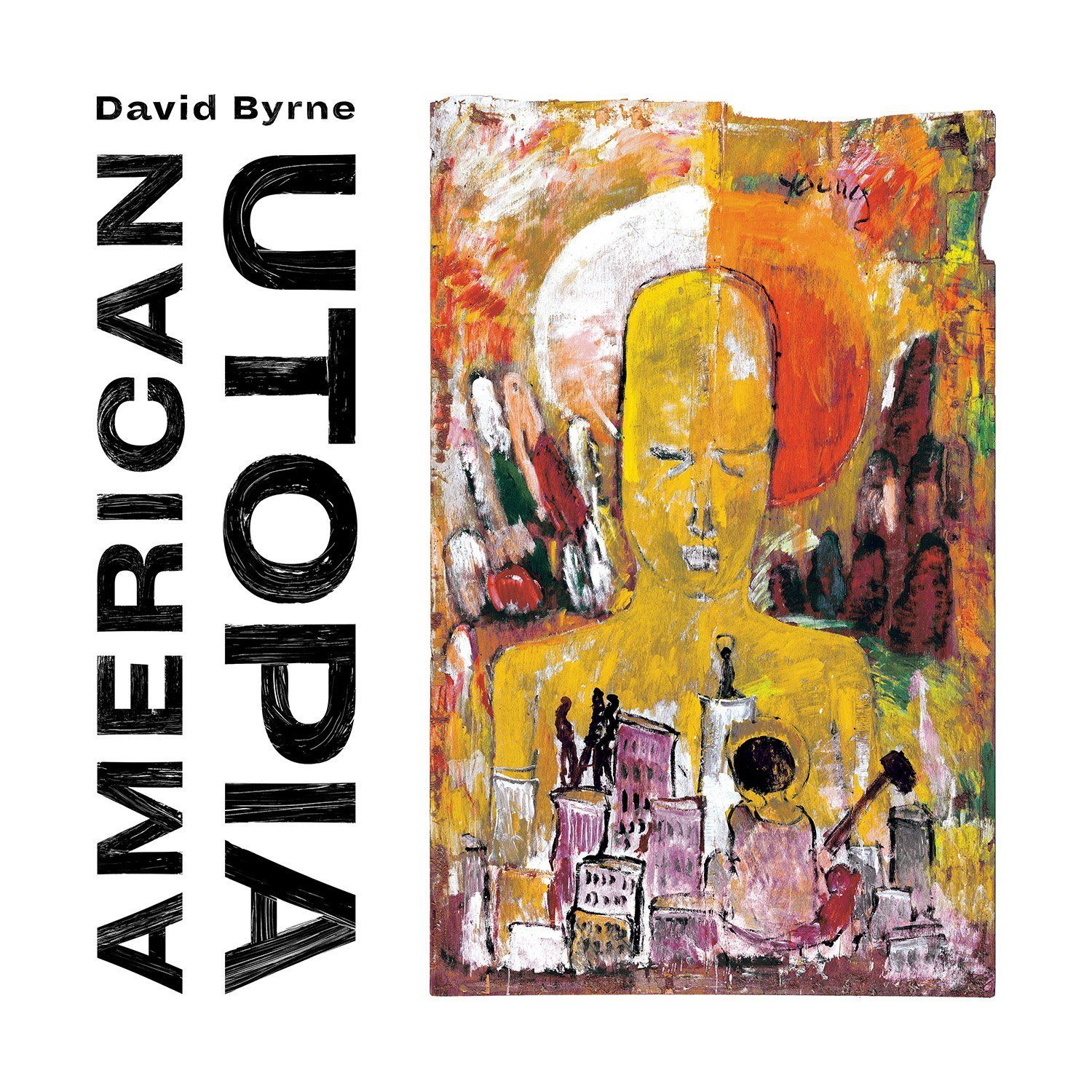 David Byrne - American Utopia album cover