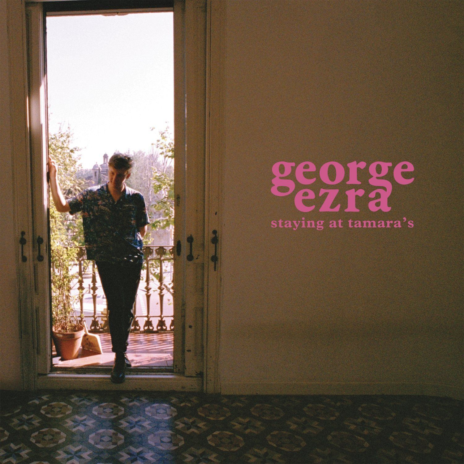 George Ezra - Staying At Tamara's album cover