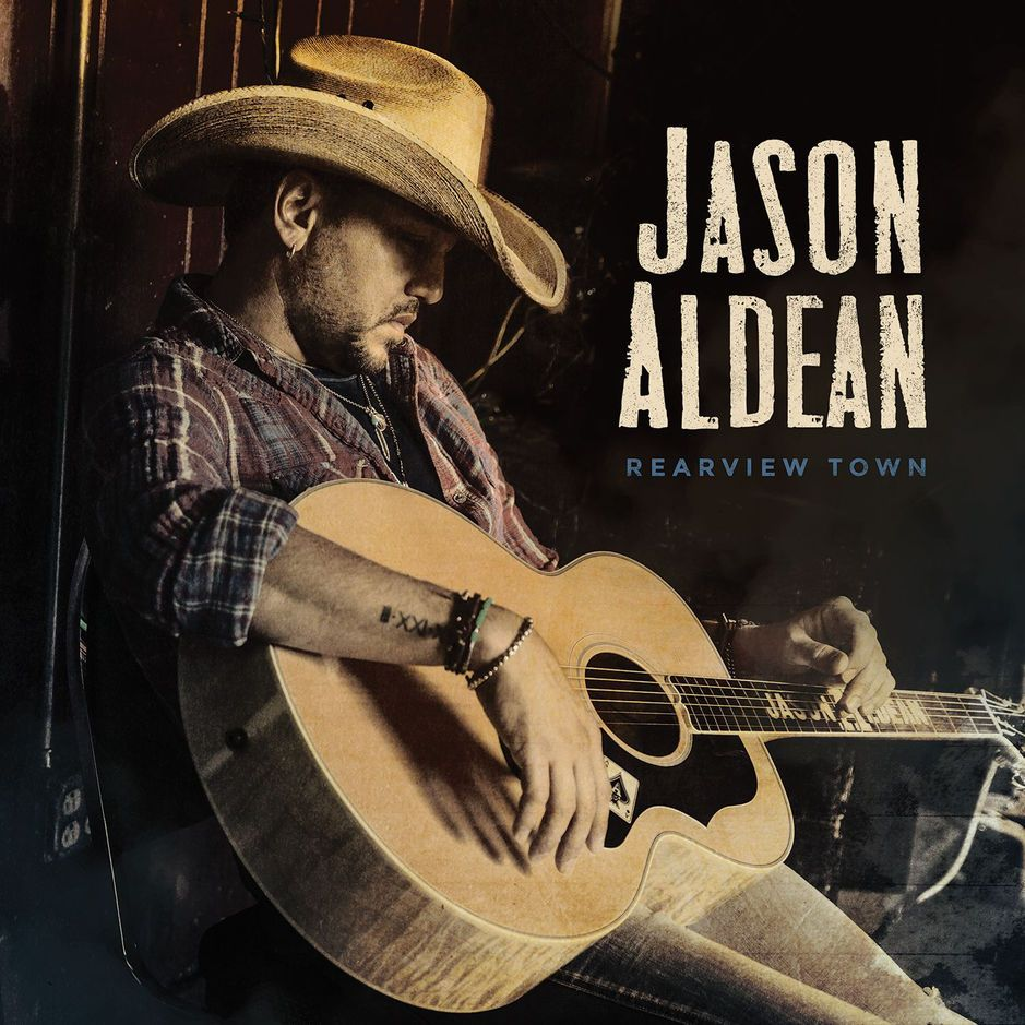 Jason Aldean - Rearview Town album cover