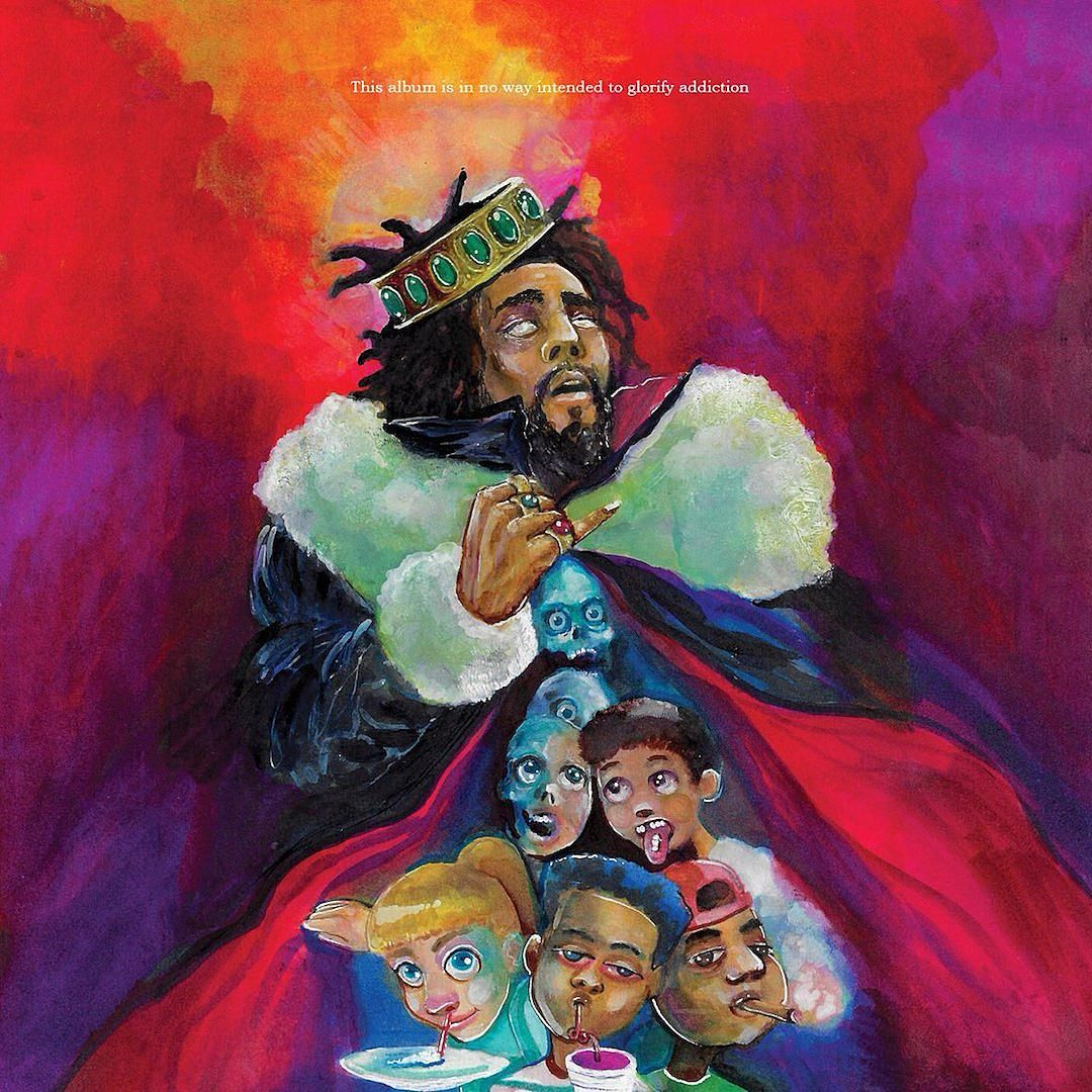 J. Cole - Kod album cover