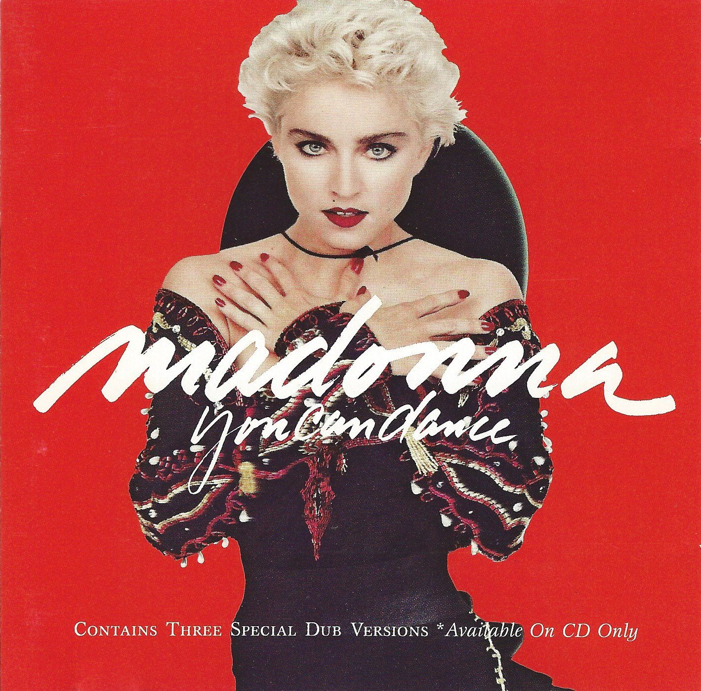 Madonna - You Can Dance album cover