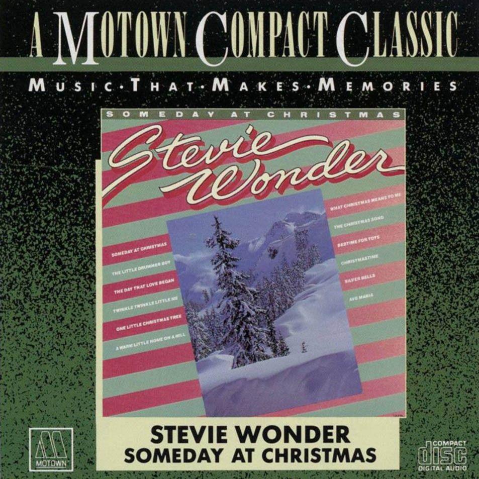 Stevie Wonder - Someday At Christmas album cover