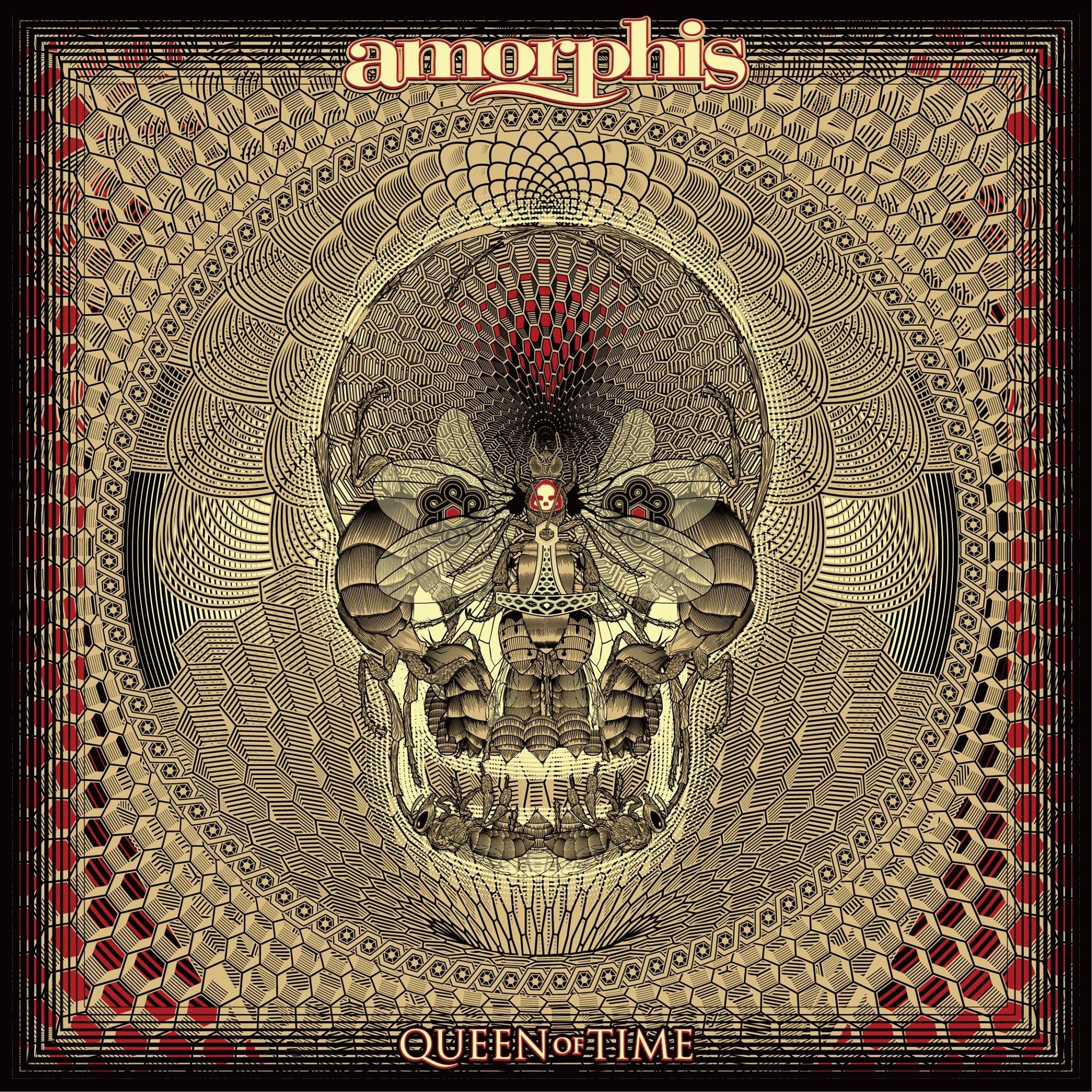 Amorphis - Queen Of Time album cover