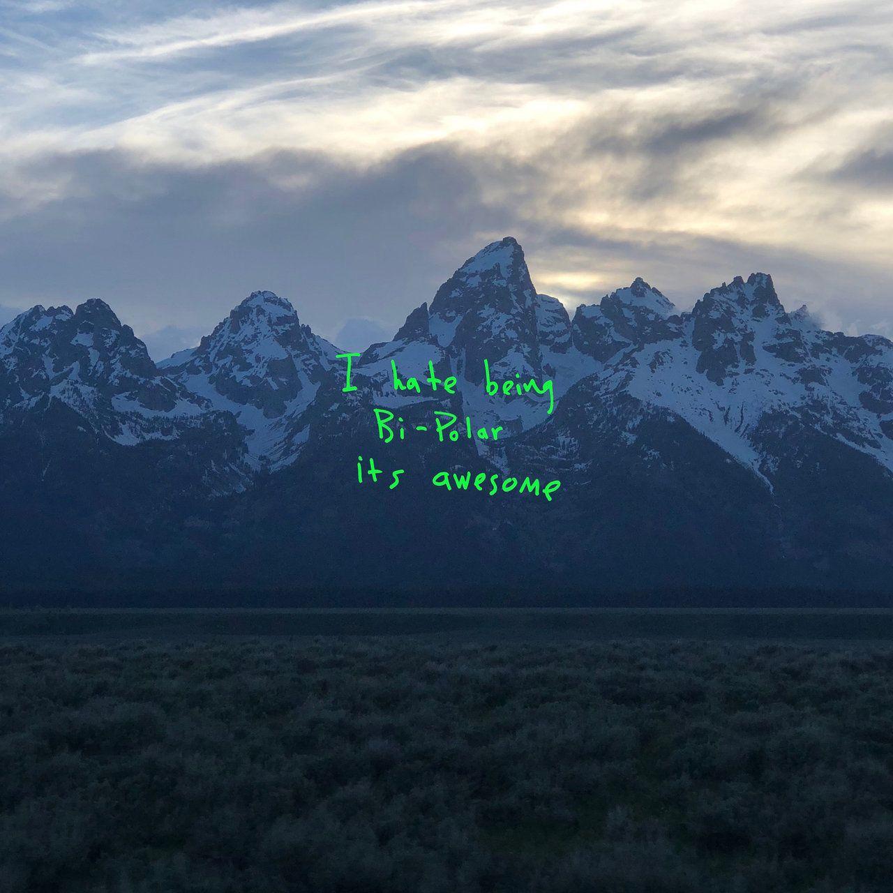 Kanye West - Ye album cover