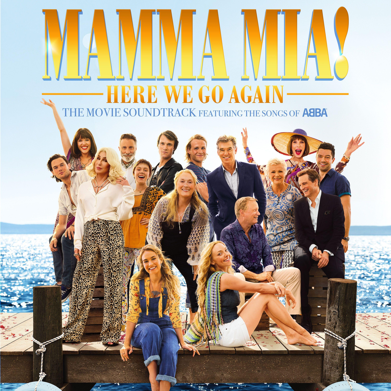 Soundtrack - Mamma Mia! Here We Go Again album cover