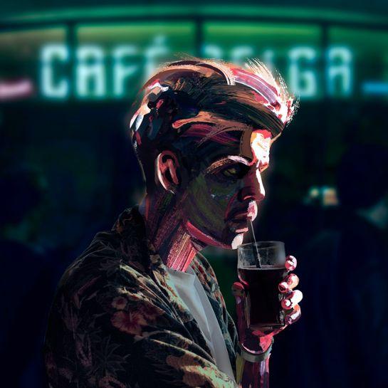 Taco Hemingway - Cafe Belga album cover