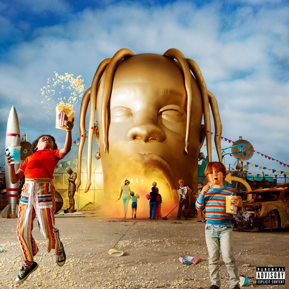 Travis Scott - Astroworld album cover