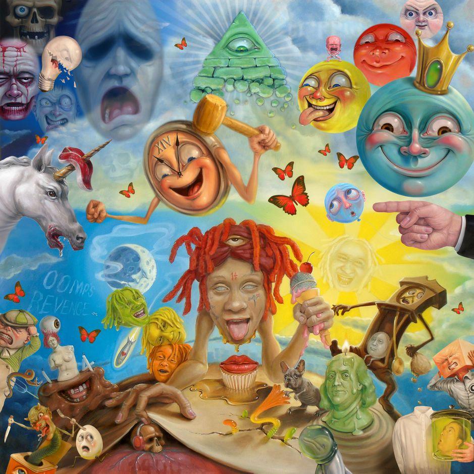 Trippie Redd - Life's A Trip album cover