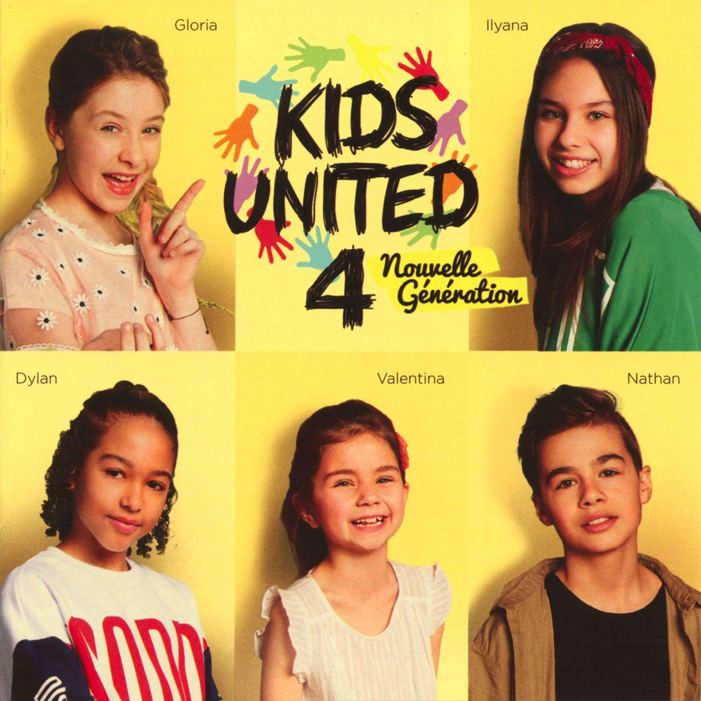 Kids United Nouvelle Generation - Au Bout De Nos Reves album cover
