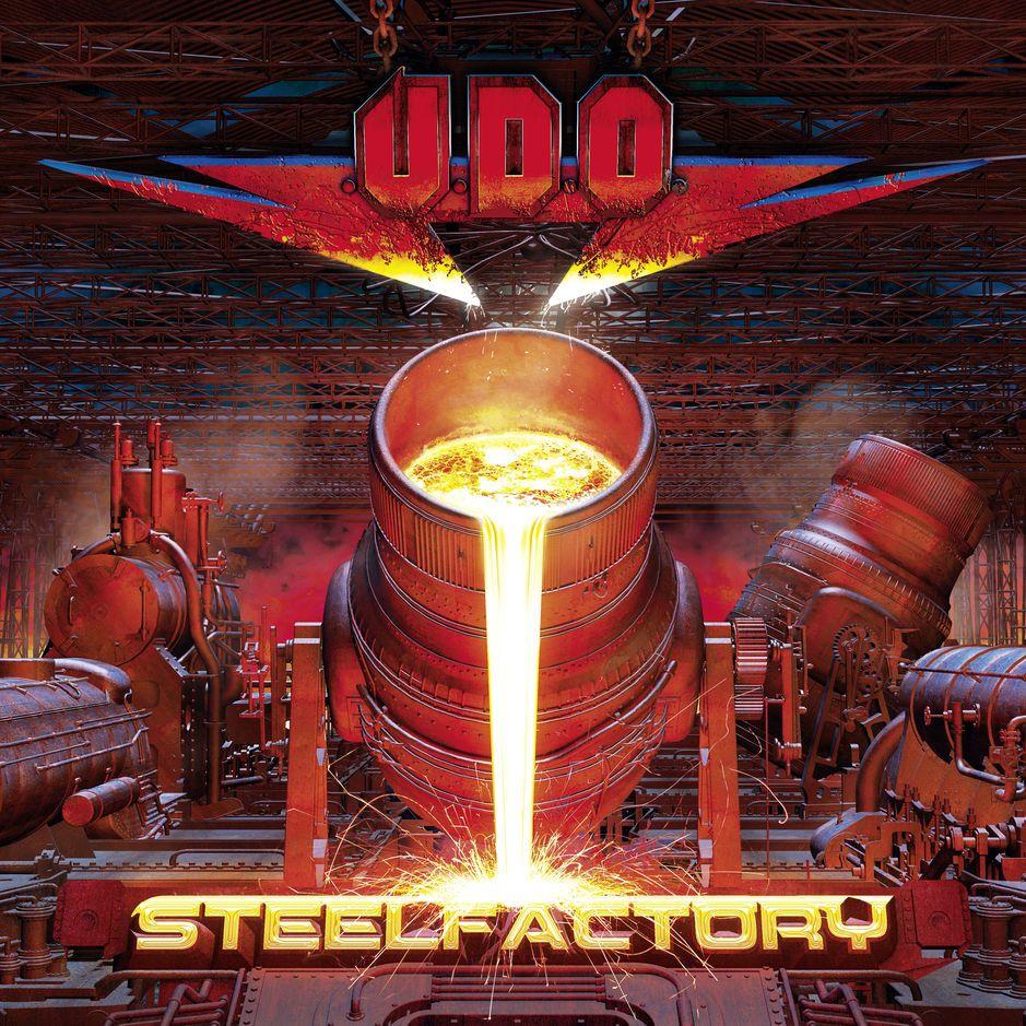 U.d.o. - Steelfactory album cover