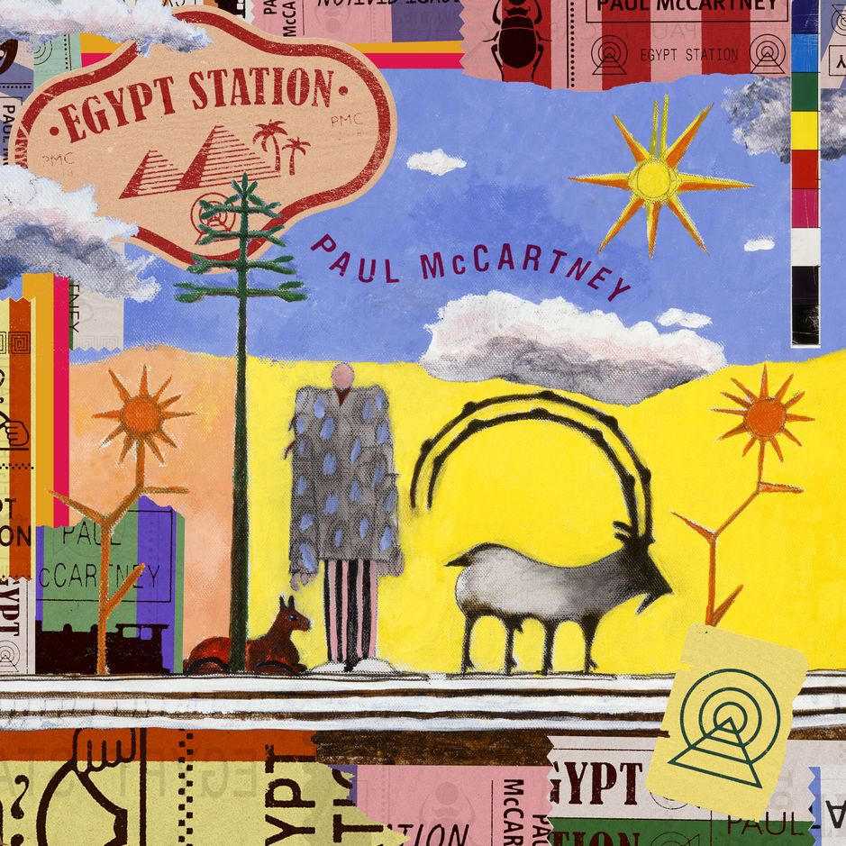 Paul McCartney - Egypt Station album cover