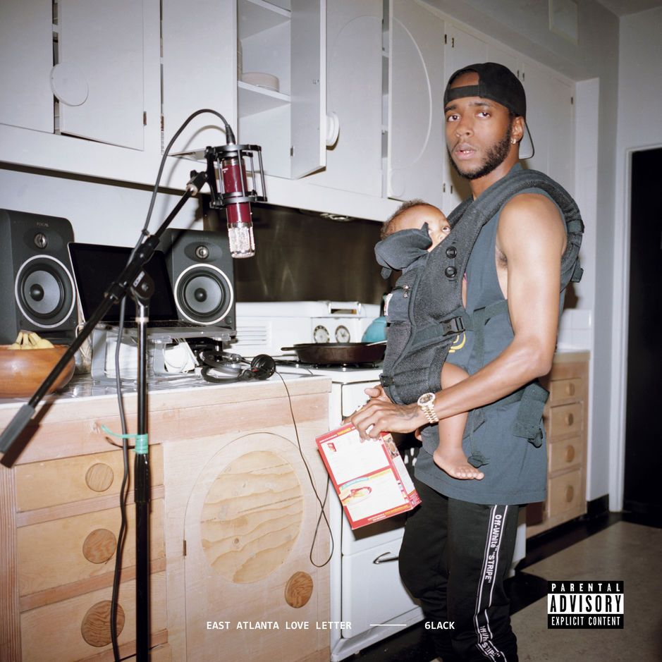 6Lack - East Atlanta Love Letter album cover