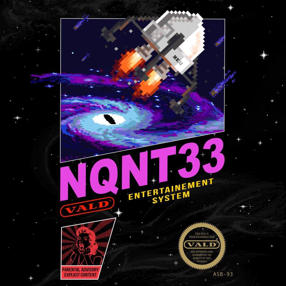 Vald - Nqnt33 album cover
