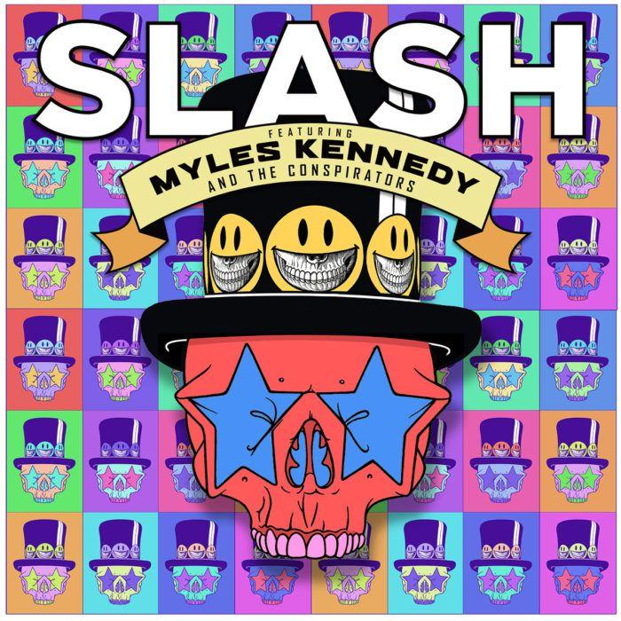 Slash - Living The Dream album cover