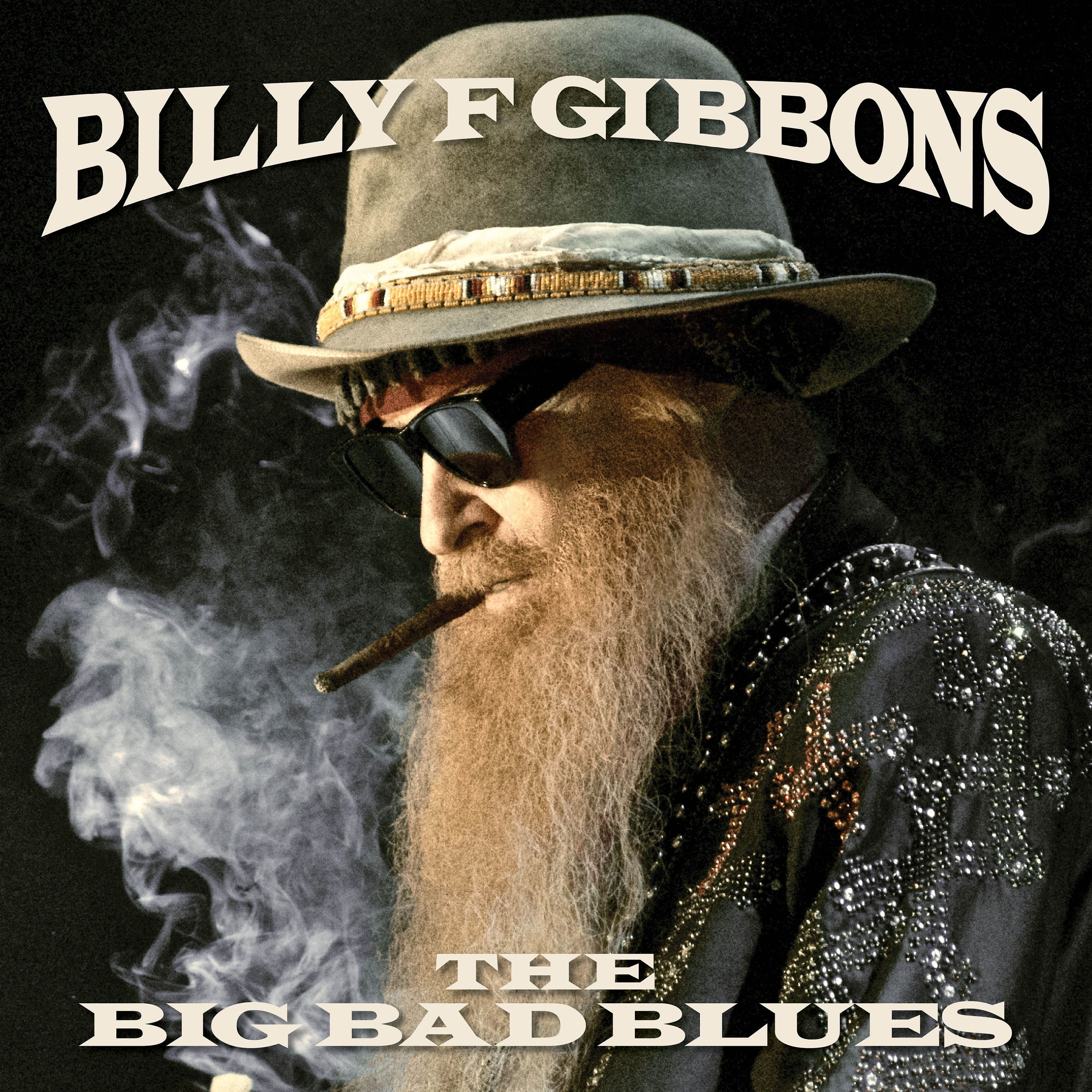 Billy F Gibbons - The Big Bad Blues album cover