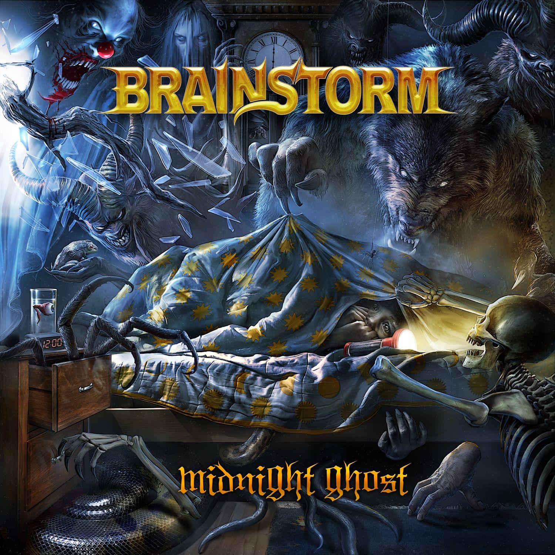 Brainstorm - Midnight Ghost album cover