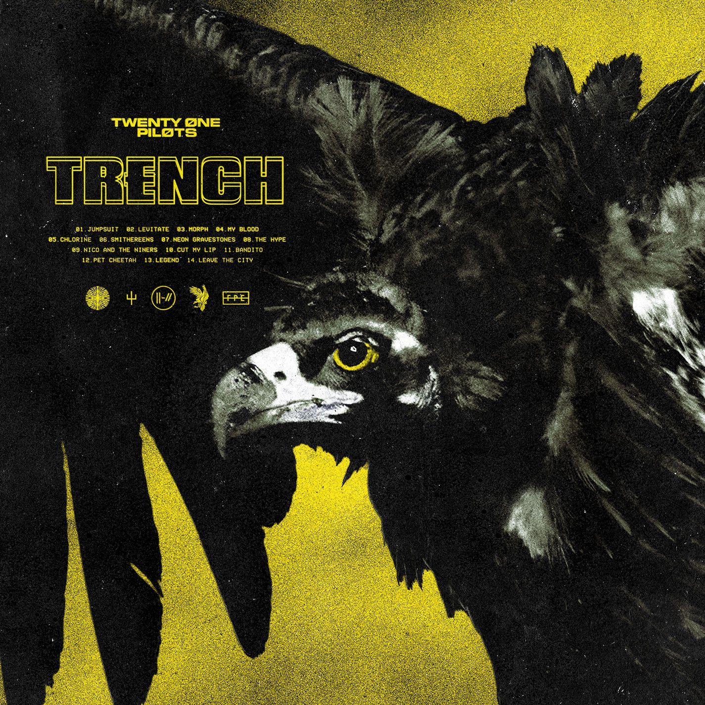 Twenty One Pilots - Trench album cover