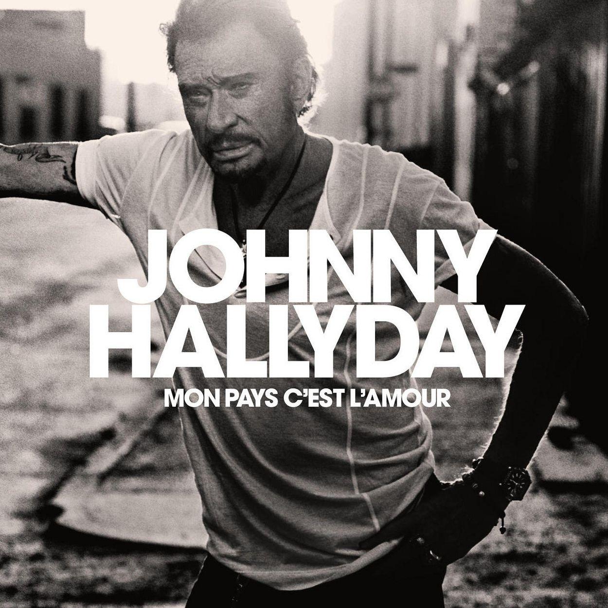 Johnny Hallyday - Mon Pays C'est L'amour album cover