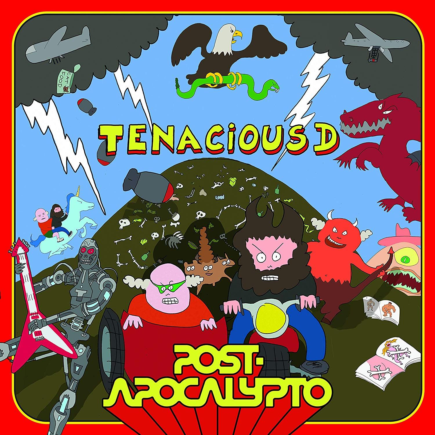 Tenacious D - Post-apocalypto album cover