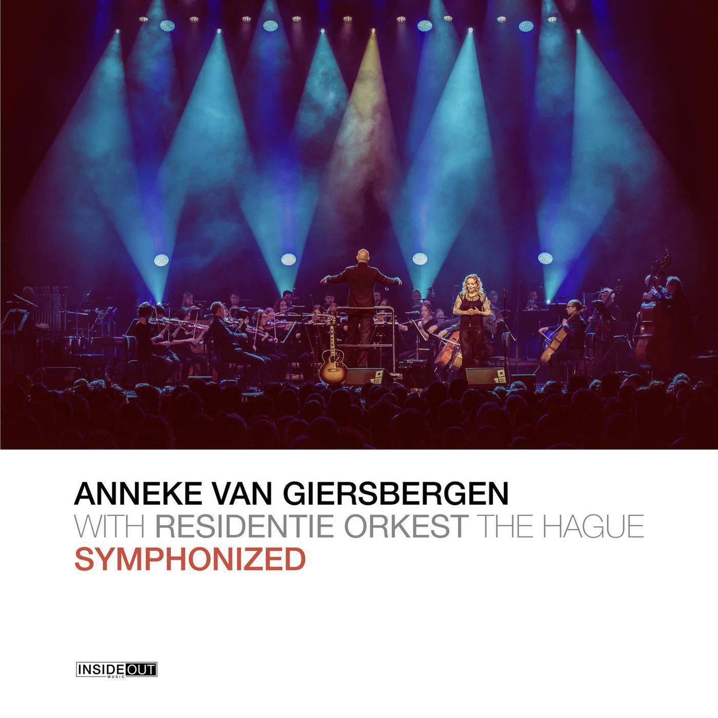 Anneke Van Giersbergen - Symphonized album cover