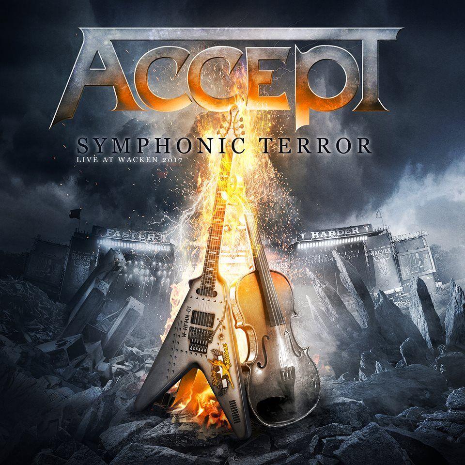 Accept - Symphonic Terror - Live At Wacken 2017 album cover