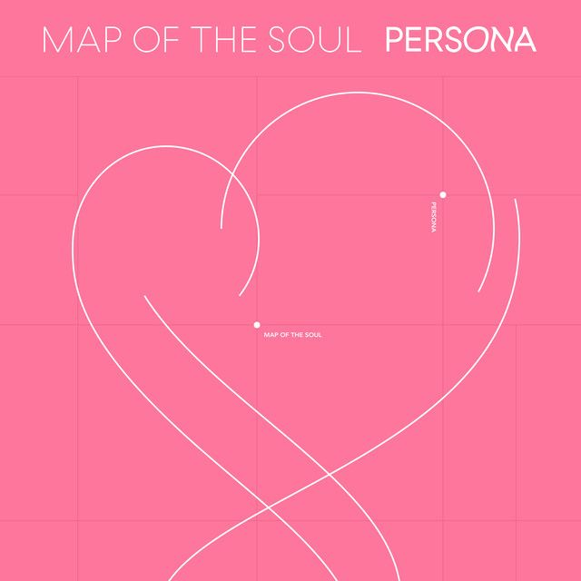 BTS - Map Of The Soul - Persona album cover