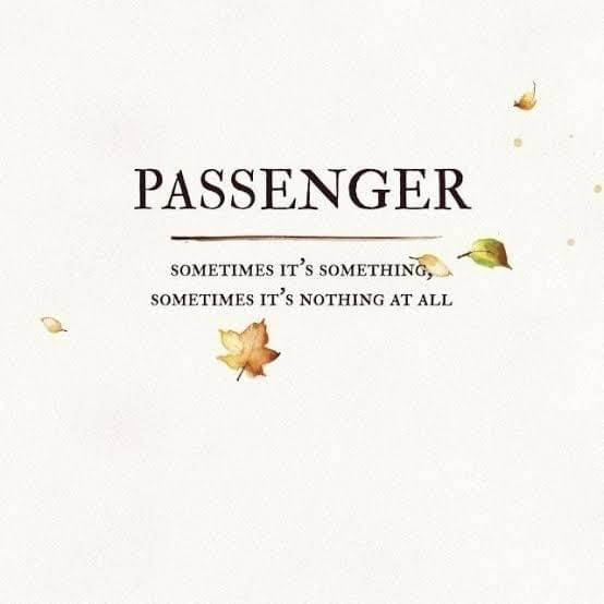 Passenger - Sometimes It's Something, Sometimes It's Nothing At All album cover