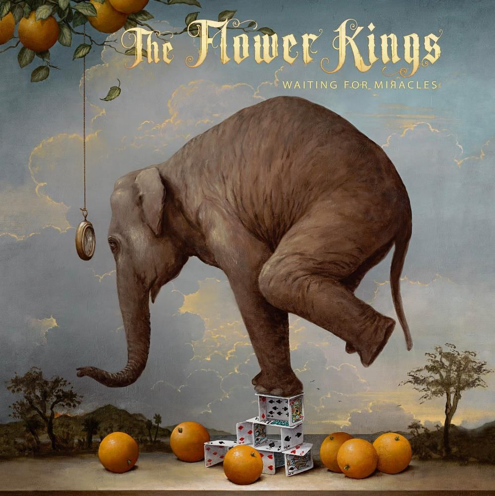 The Flower Kings - Waiting For Miracles album cover