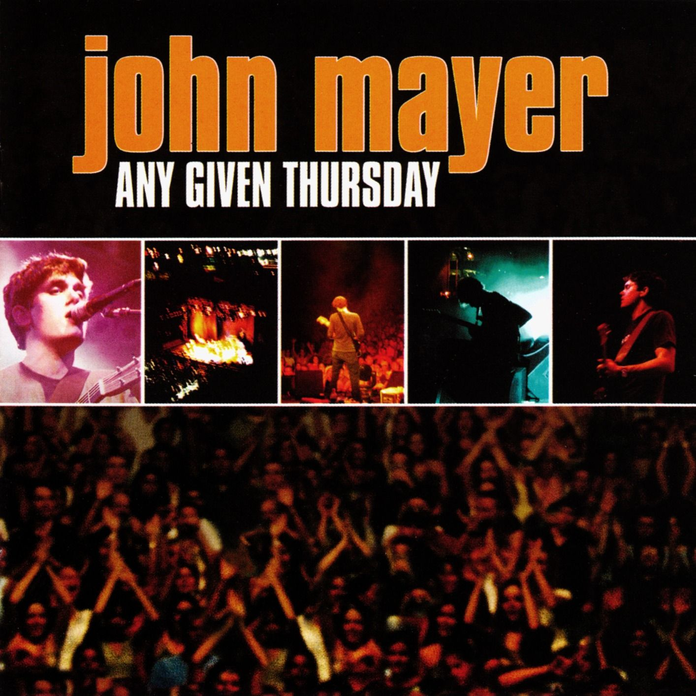 John Mayer - Any Given Thursday album cover