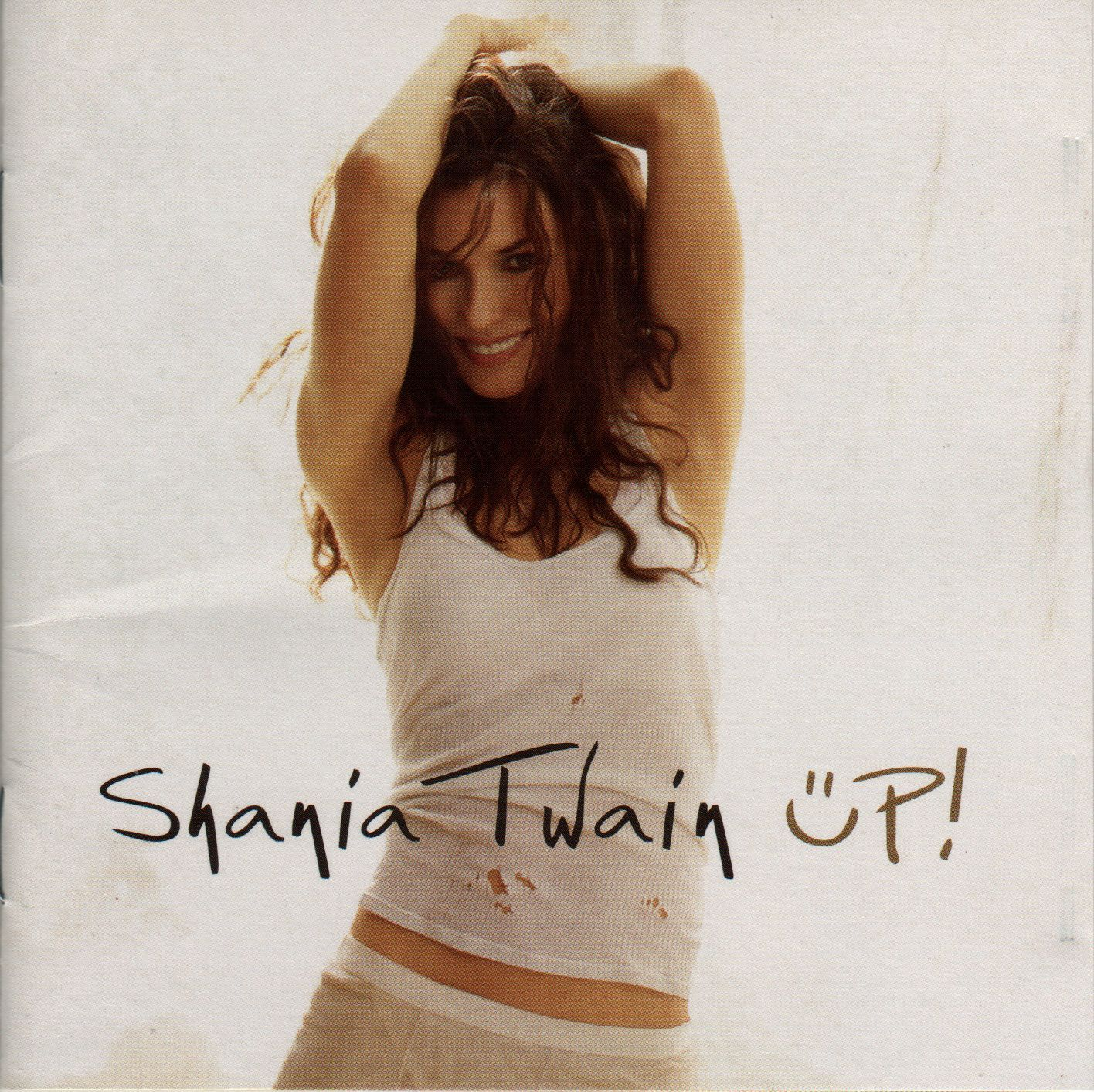 Shania Twain - Up! album cover