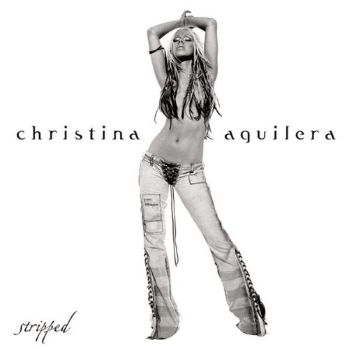 Christina Aguilera - Stripped album cover