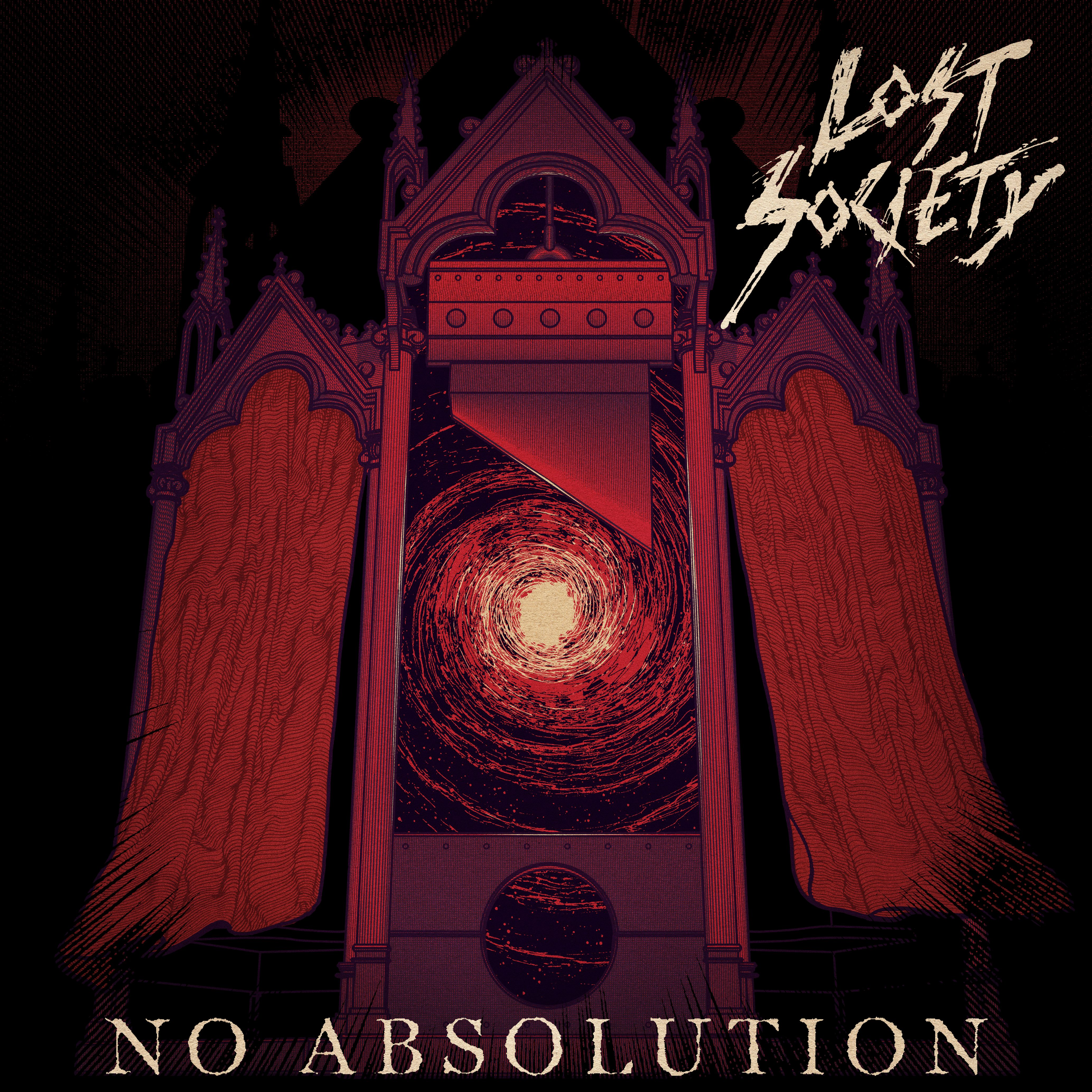 Lost Society - No Absolution album cover