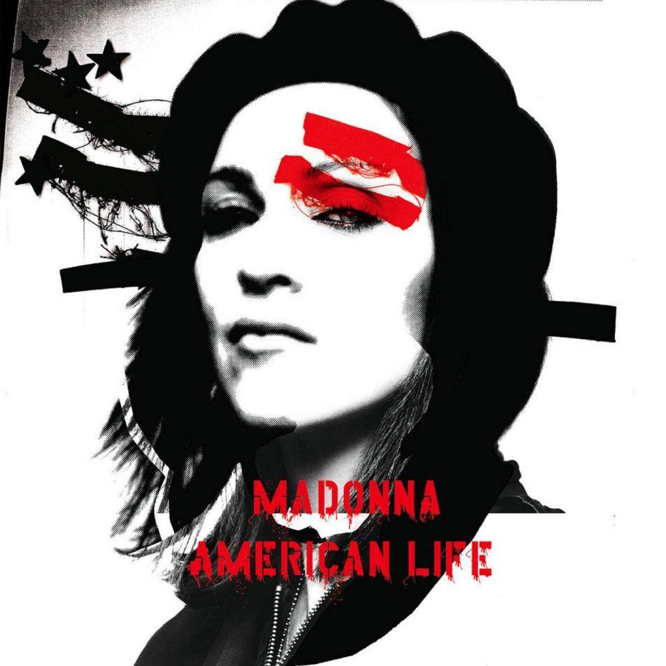 Madonna - American Life album cover