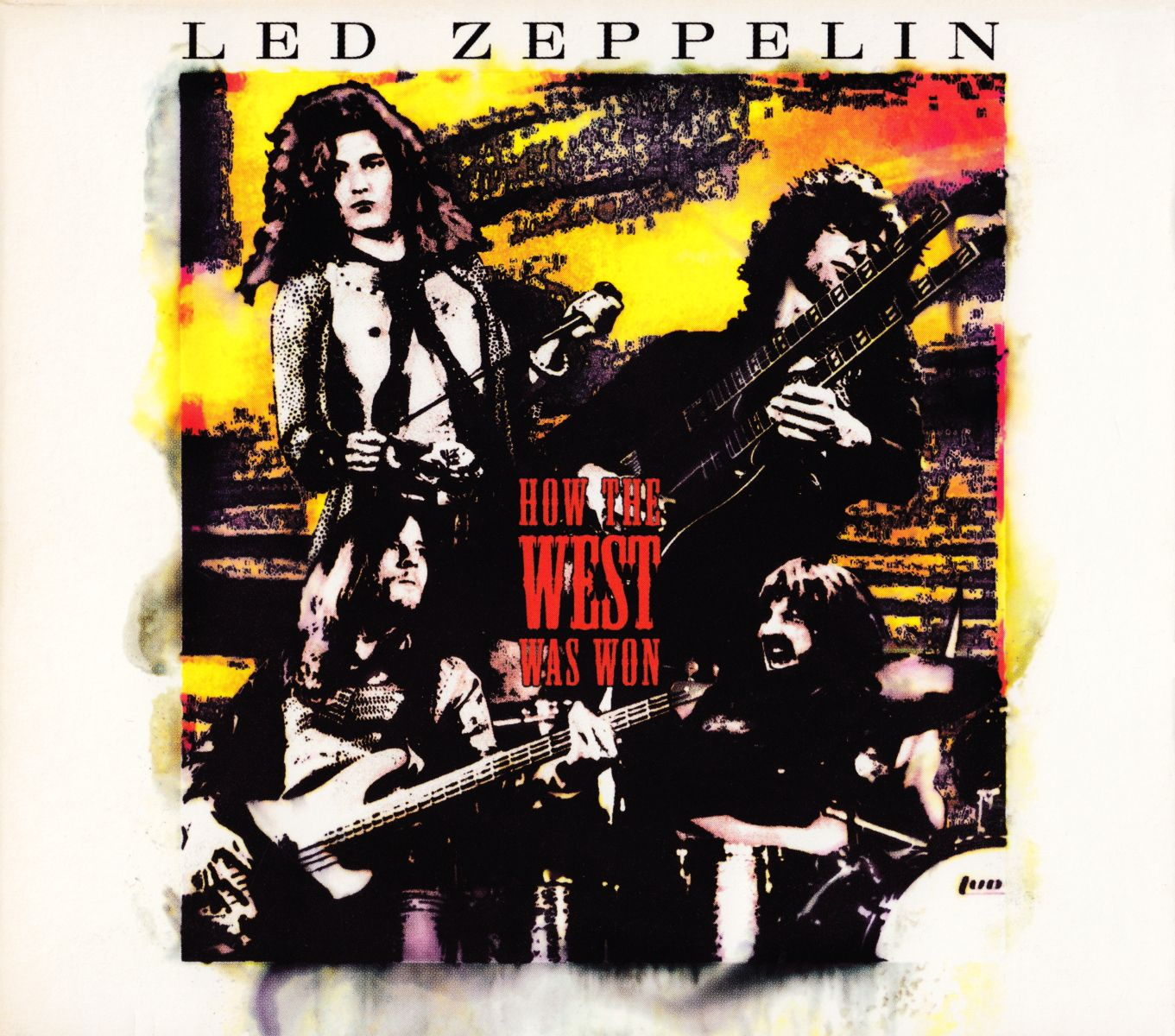 Led Zeppelin - How The West Was Won album cover