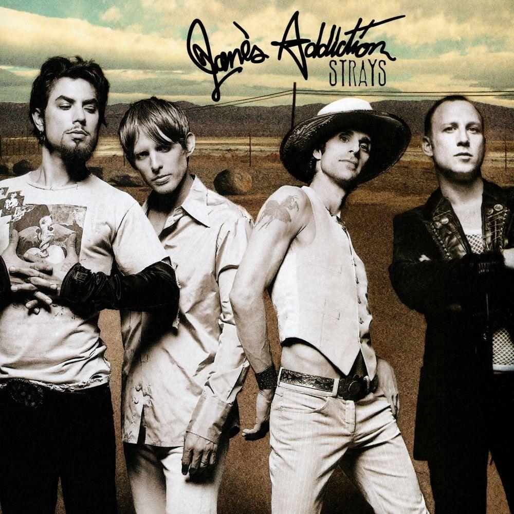 Jane's Addiction - Strays album cover