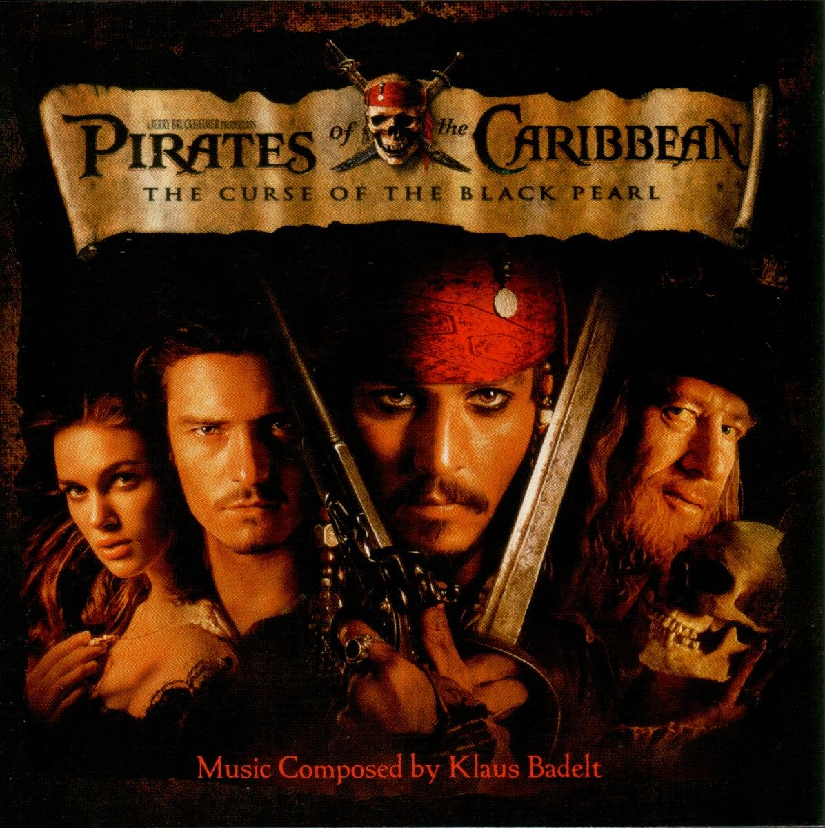 Soundtrack - Pirates Of The Caribbean: The Curse Of The Black Pearl album cover