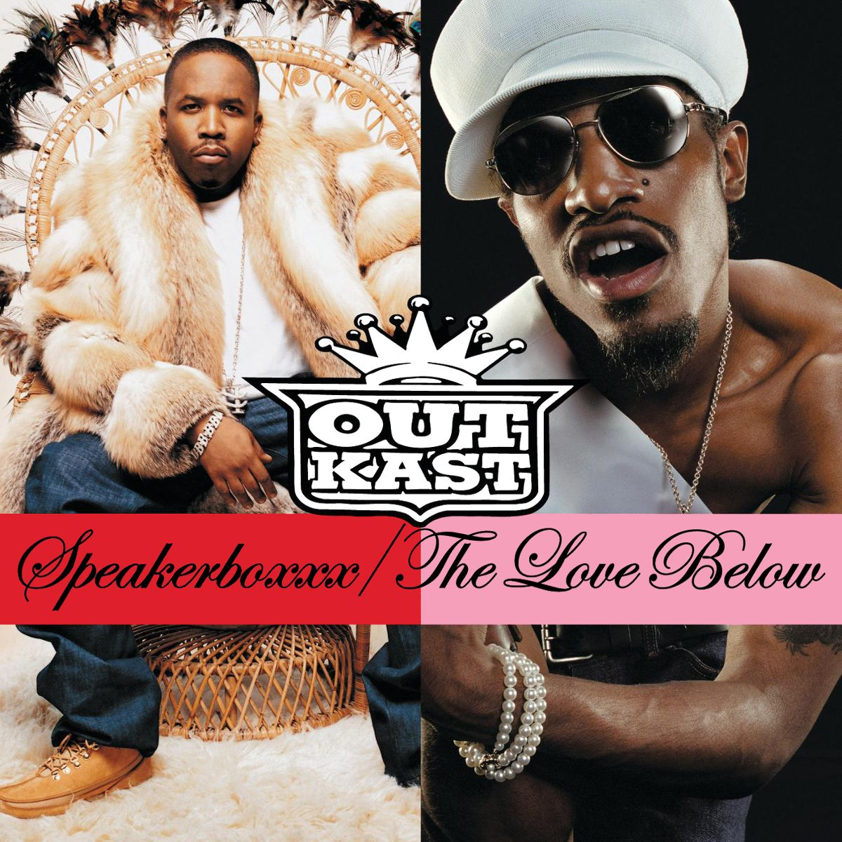 Outkast - Speakerboxxx / The Love Below album cover