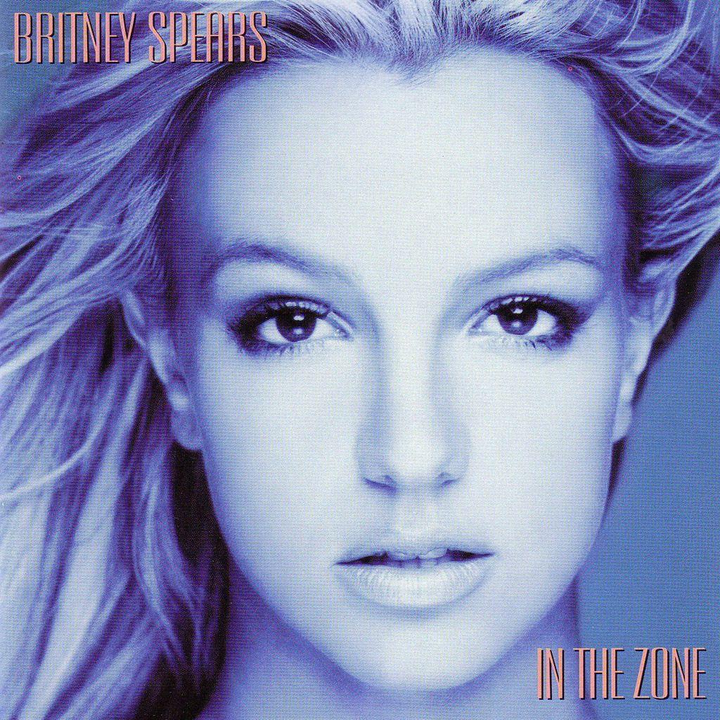 Britney Spears - In The Zone album cover